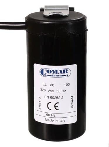 Anlaufkondensator 50/63 µF