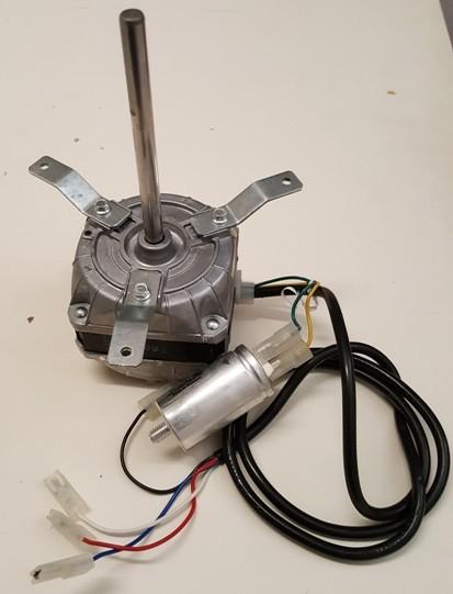 Lüftermotor mit 3Fuß Befestigung (Welle 110mm)