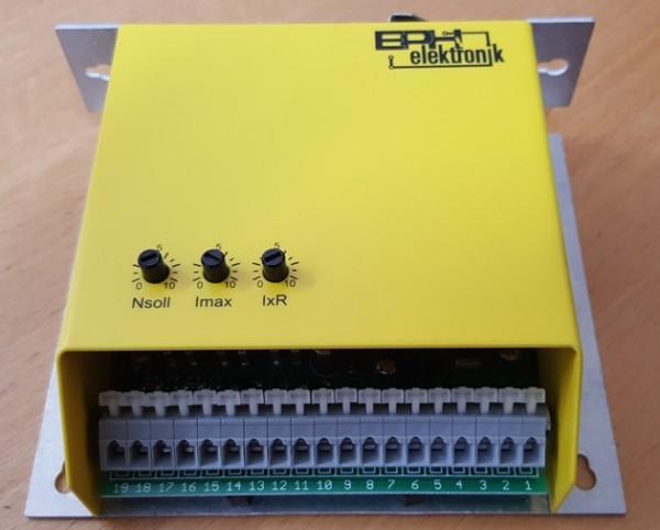 4-Q-Transistor-Drehzahlregler 10....36V DC - max 10A
