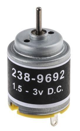 Miniaturmotor - 1,5...3V DC - 1,21W - 11300Upm