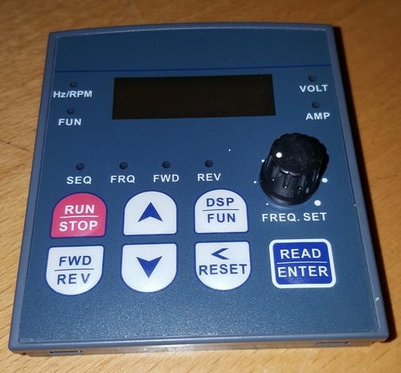 Aufsteck-Display für Frequenzumrichter