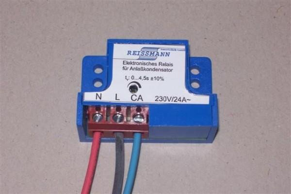 Elektronisches Relais für Anlaufkondensatoren