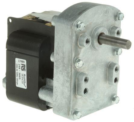 230V Getriebemotor 80Upm 24Watt